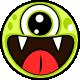 Cute Monsters tic tac toe html5 game