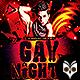 Gay Nights Flyer