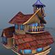 House Model 5 - (fablesalive game asset)