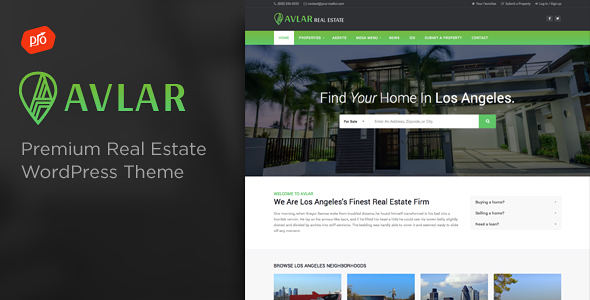 Download Avlar - Real Estate Theme