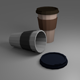 Low Poly Coffe Cup