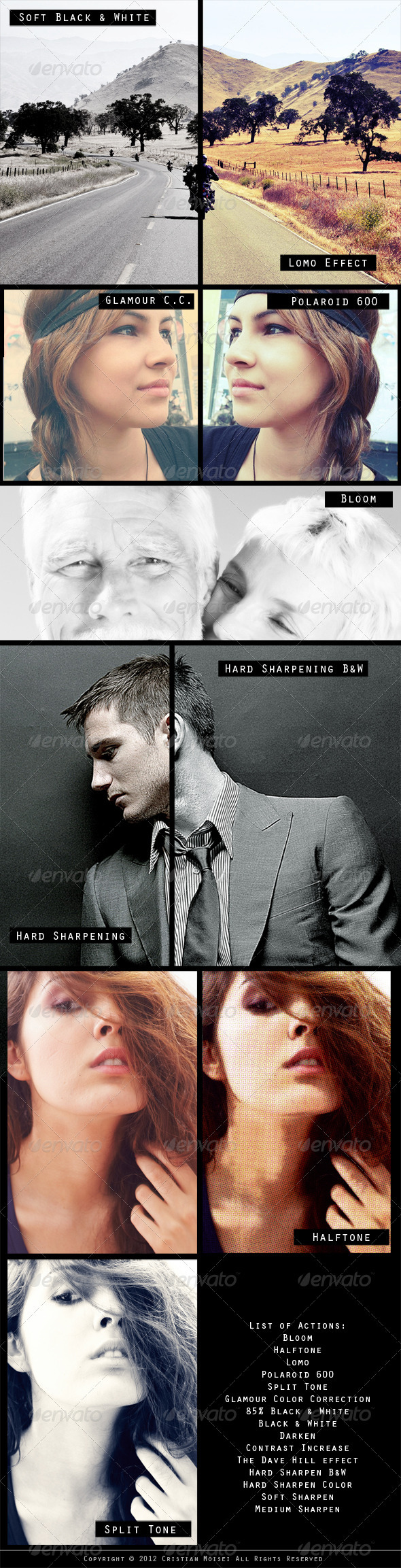 GraphicRiver 15 Professional Photoshop Actions 1462883