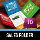 Metro I Sales Folder - GraphicRiver Item for Sale