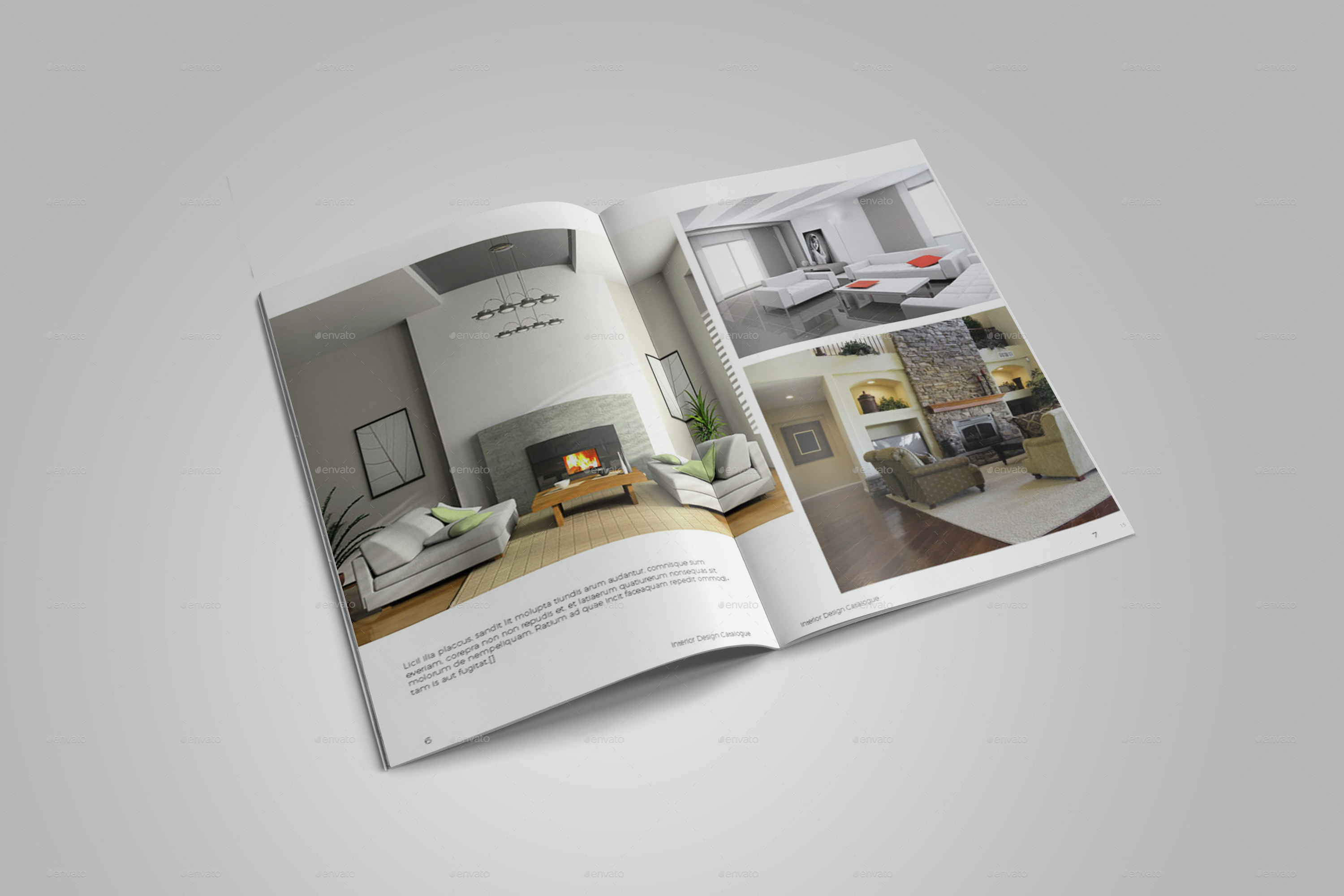 Interior Design Catalogues 25 Indesign Templates Every