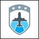 Flight Badge Logo Template