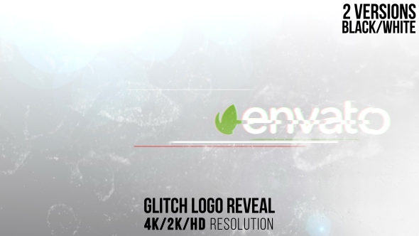 Download Glitch Logo Reveal nulled download