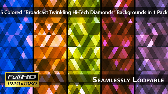 Broadcast Twinkling Hi-Tech Diamonds Pack 01