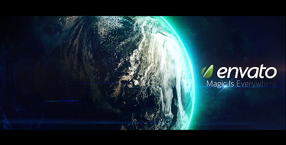 After Effects Project - VideoHive Epic Earth Rotation 1498444