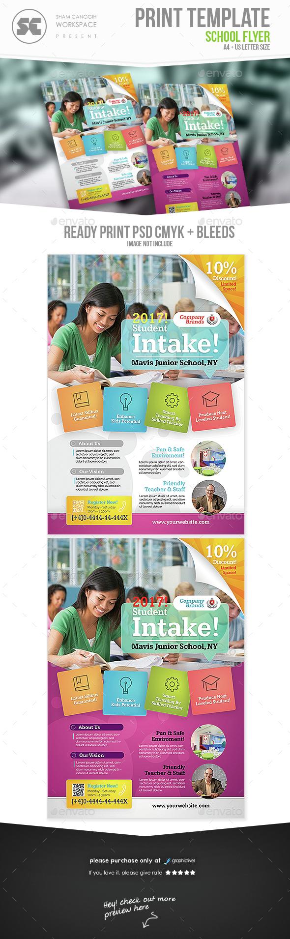 school flyers examples