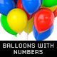 Balloons With Golden and Steel Numbers