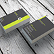 Minimal Business Card InDesign 0016