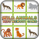 Kids Memory Games - Wild Animals
