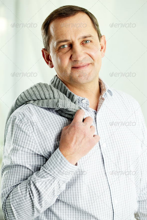 Mature man - Stock Photo - Images