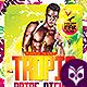 Tropical Pride Nights Flyer