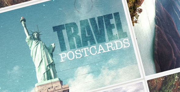 VideoHive Travel Postcard 14982261