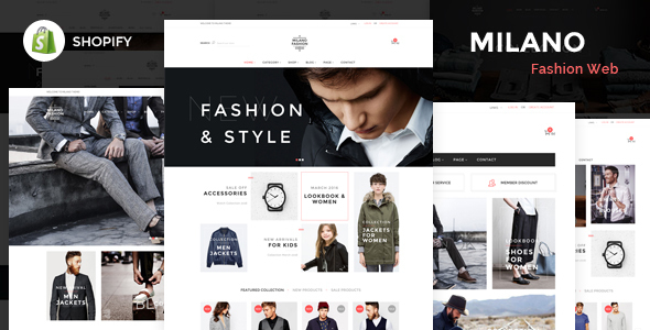 Milano – Responsive Shopify Theme
