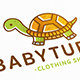 Baby Turtle Logo Template