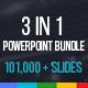 3 in 1 Powerpoint Presentation Bundle