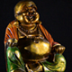 Buddha Figure Rotating