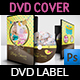 Baby Shower Party DVD Template Vol.6