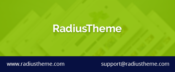 Radius themeforest