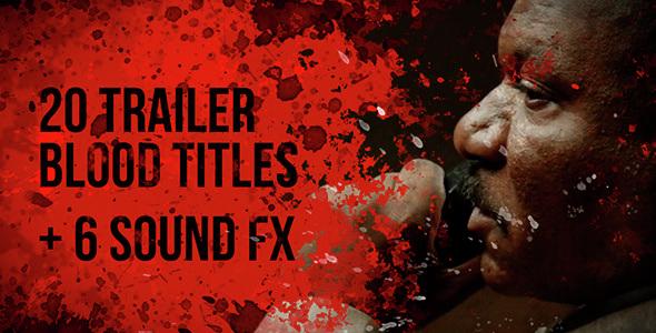 Download 20 Trailer Blood Titles nulled download