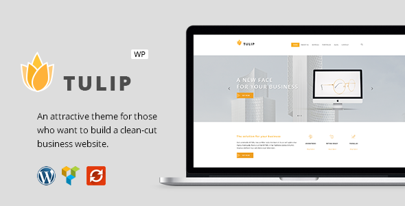 Tulip - Responsive Business WordPress Theme
