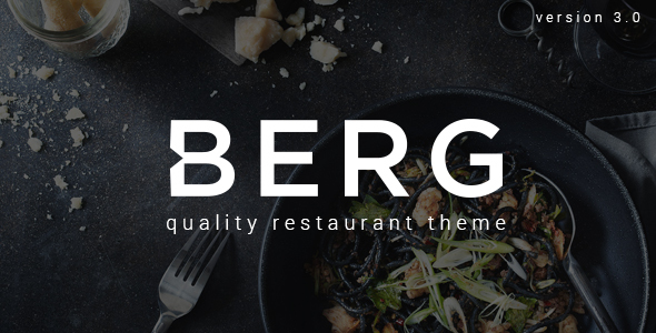 Download BERG - Restaurant WordPress Theme nulled download