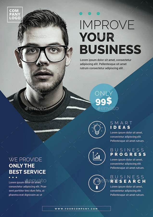 Corporate Flyer Template by vynetta – Corporate Flyer Template