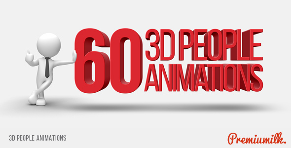 3D People Animations (Commercials)