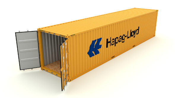 Shipping container Hapag LLoyd - 3DOcean Item for Sale