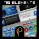 Mega Web 2.0 Elements - GraphicRiver Item for Sale