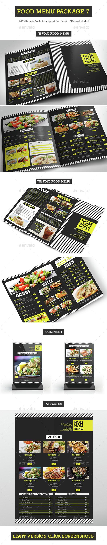 Food Menu Package 7