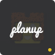 PlanUp - Event Booking HTML Template