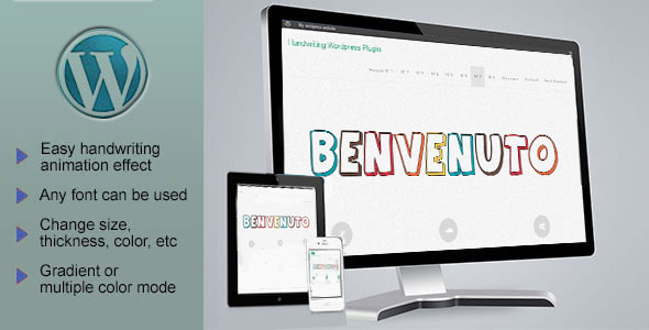 Responsive SVG Handwritting Text Animation - WordPress Plugin - CodeCanyon Item for Sale
