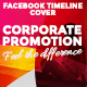 Facebook Timeline Cover - Corporate Promotion