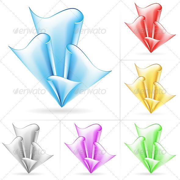 Graphic River Dynamic Flow Backgrounds Vectors -  Decorative  Backgrounds 1501257