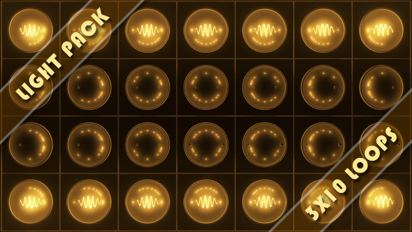 VideoHive Light Show Warm 15004114
