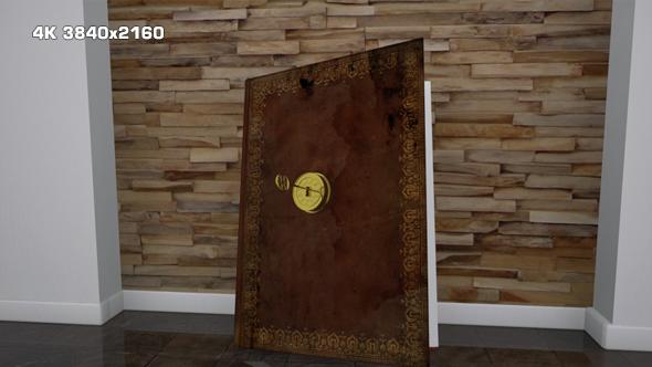 VideoHive Golden Key Book Open 15004519
