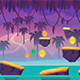 7 Level Game Backgrounds