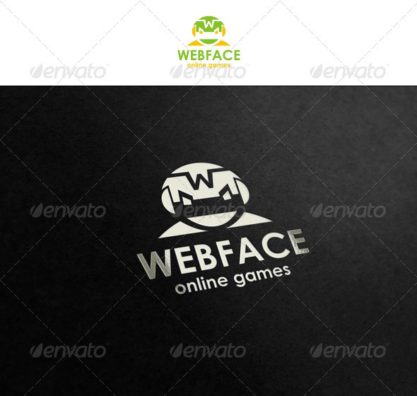 WebFace - Illustrative Logo for Your Business - Humans Logo Templates