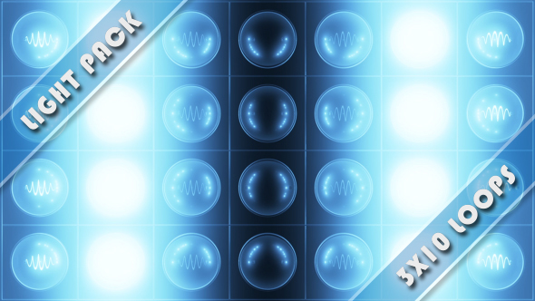 VideoHive Light Show Cool 15008455
