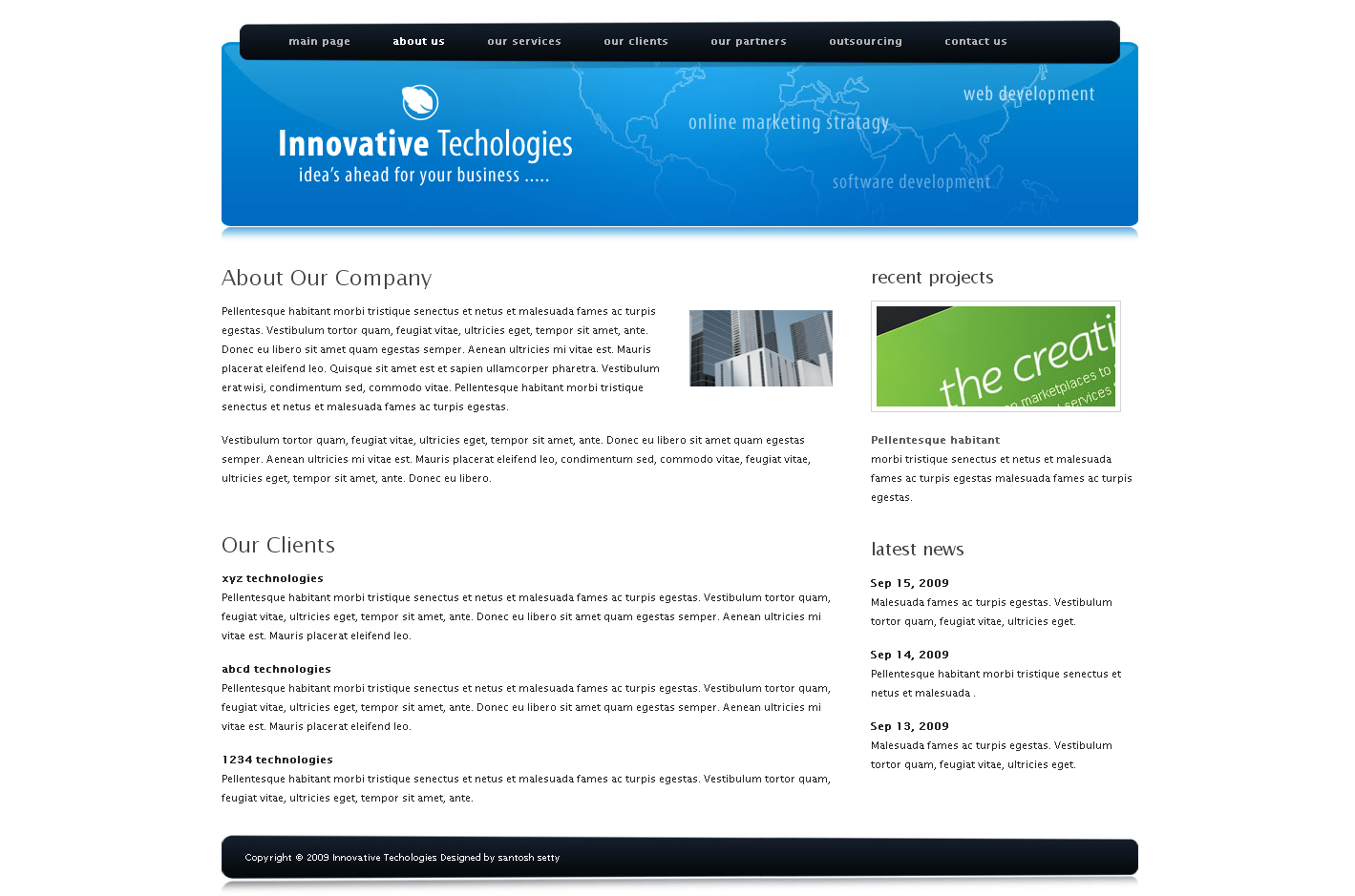 Innovative technologies drupal 6 corporate theme by for Drupal 404 template