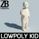 Lowpoly Kid 001