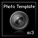 photographer's portfolio template (as3, xml)  - ActiveDen Item for Sale