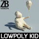 Lowpoly Kid 002