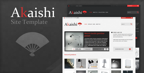 Akaishi Html - Shopping Retail