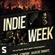 Indie Week Flyer Vol. 2