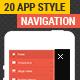 Web Slide - App Style Responsive Megamenu