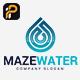 Maze Water Logo